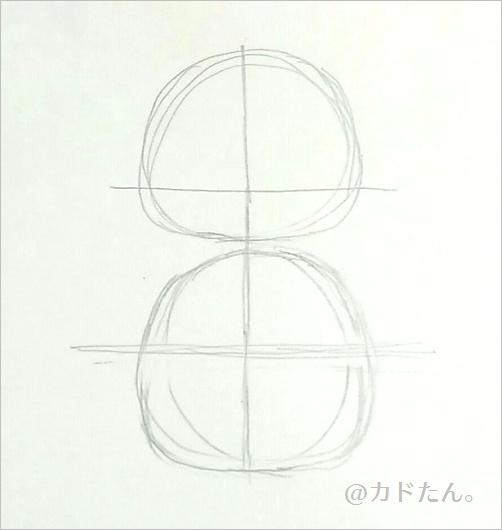 イラスト初心者が描く、デフォルメイラスト603-1
