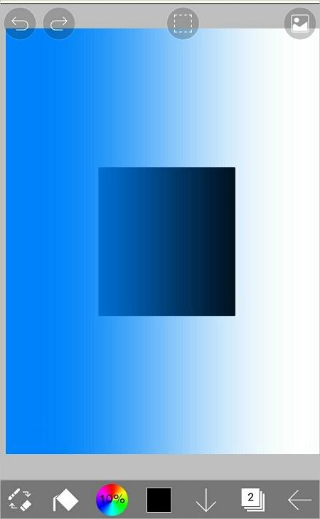 アイビスペイントでグラデーション塗りをする方法807-9