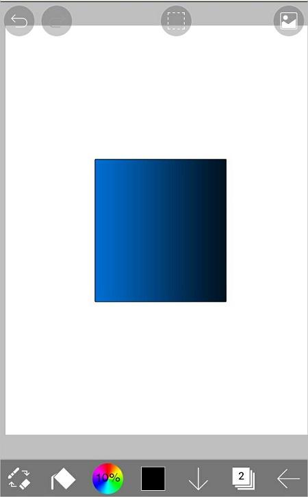 アイビスペイントでグラデーション塗りをする方法807-10
