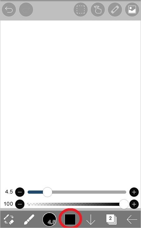 絵を描く時に目が疲れにくくなる、グリーンノートレイヤーの作り方704-3